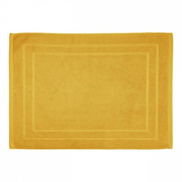 tapis de bain krista jaune ocre tapis eminza. Black Bedroom Furniture Sets. Home Design Ideas