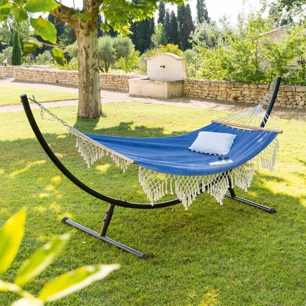 toile de hamac duo rialto bleu jean transat et hamac. Black Bedroom Furniture Sets. Home Design Ideas