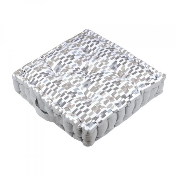 coussin de sol jacara lin naturel textile d 39 ext rieur. Black Bedroom Furniture Sets. Home Design Ideas