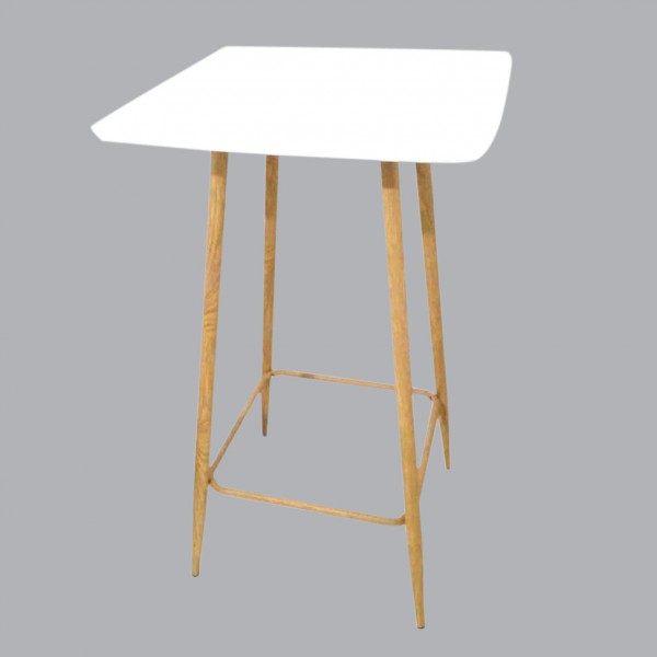 Table de bar Mange Debout Blanche
