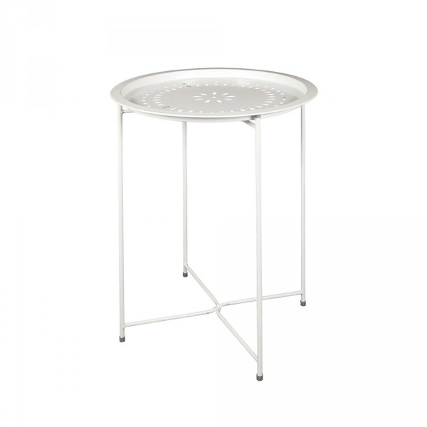 Table d'appoint Orientalia Blanche