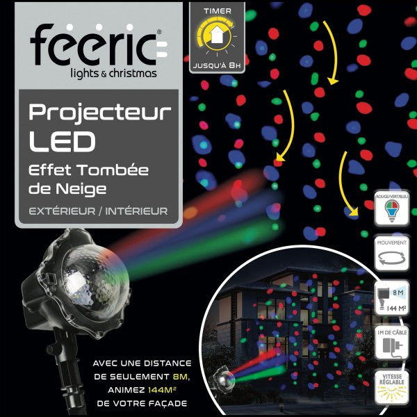 Projecteur  Multicolore 3 LED