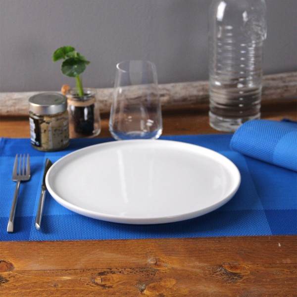 Lot de 6 sets de table Bicolor Bleu