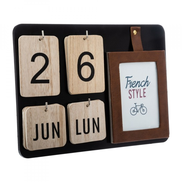 Calendrier French Marron