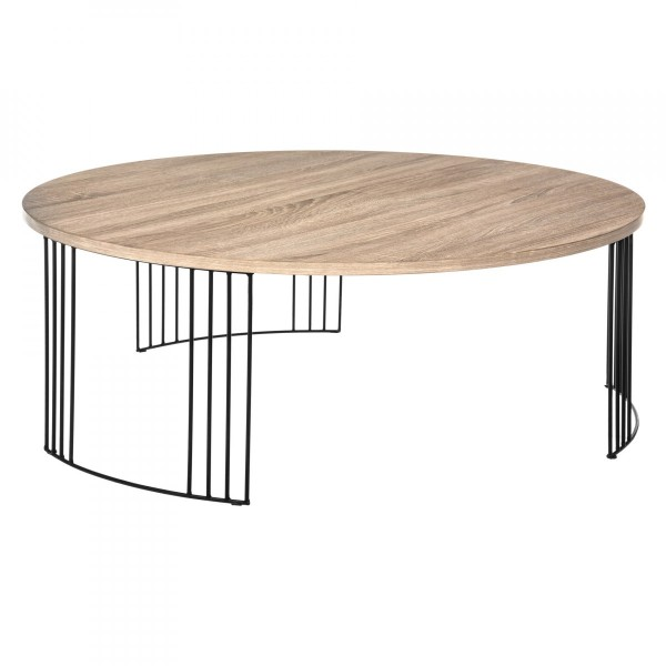 Table basse ronde Neile Naturelle