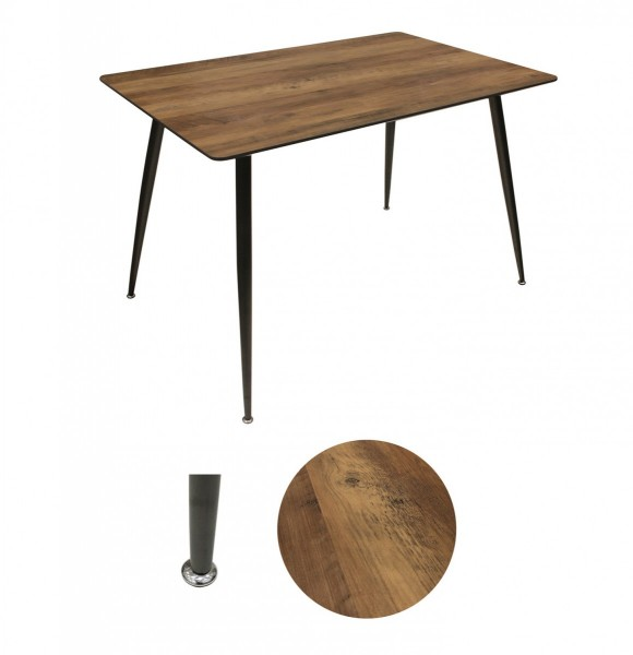 Table de repas Industria Marron