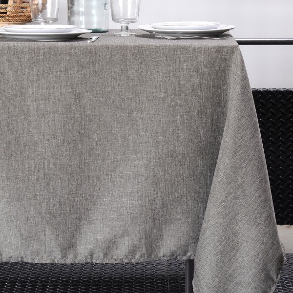 Nappe rectangulaire (L240 cm) Bea Taupe