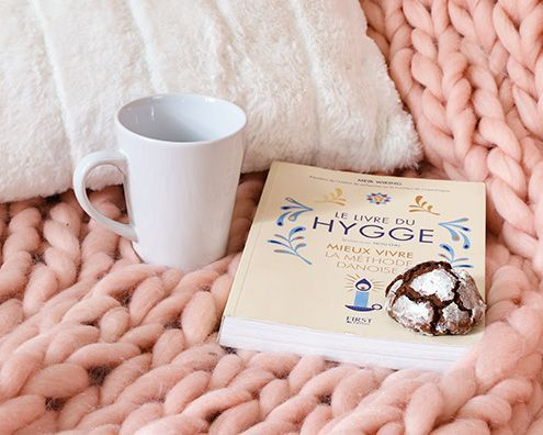 plaid e cuscini Hygge