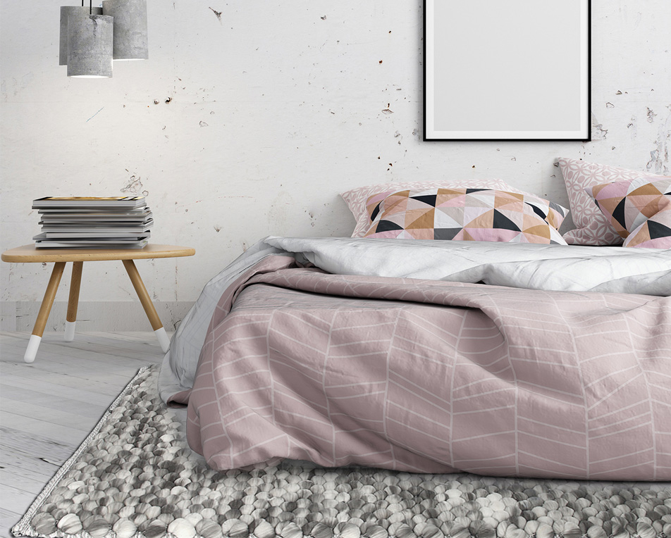 chambre style new nordic