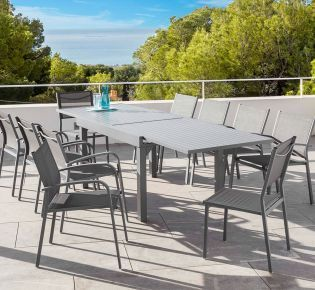 Table de jardin extensible Murano