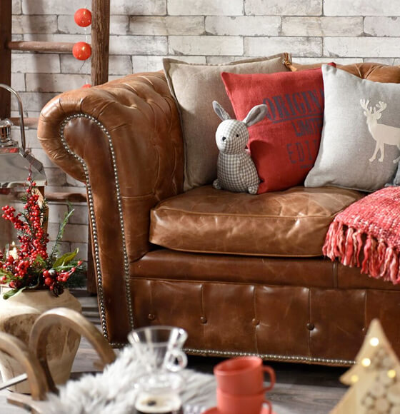 salone stile country chic