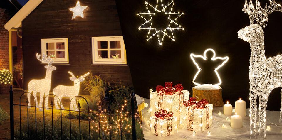 Décoration De Noël Guirlande Lumineuse Boule De Noël Sapin Eminza