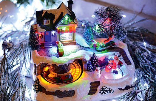 Découvrez nos villages lumineux : créez une ambiance féerique !