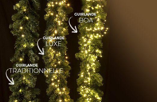 Guirlande lumineuse: choisissez votre intensité pour un Noël illuminé