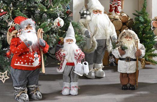 Craquez sur nos Père Noël et personnages !