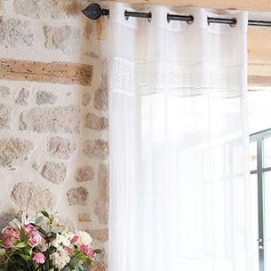 Rideaux Voilages Et Store Intérieur Pour Habiller Vos Fenêtres Eminza
