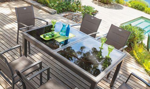 Pour tous vos repas cet été, découvrez nos ensembles table et chaises