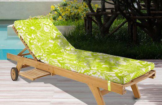 Coussins de bain de soleil moelleux et colorés : Soyez toujours confortablement installé !