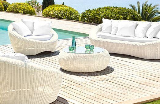 Beautiful Salon De Jardin Java Gris Clair Photos - Awesome Interior ...