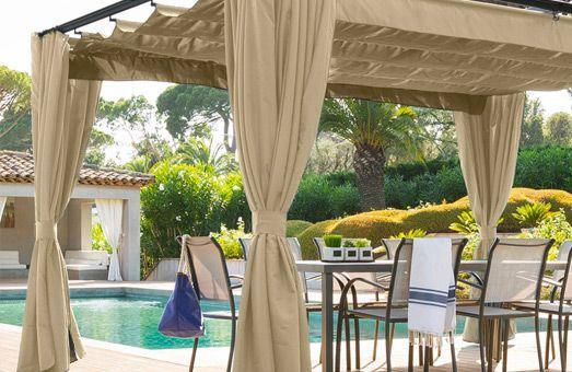 Tonnelle : Créez un espace ombragé sur votre terrasse…