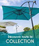 Nouveaut�s parasols et voiles d'ombrage