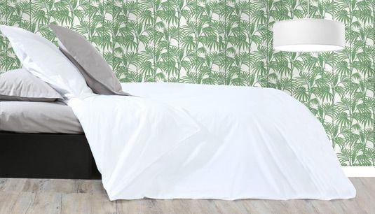 Percale, lin, coton lavé…Tout notre linge de lit uni