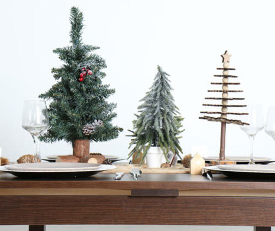 sapin de table de Noël