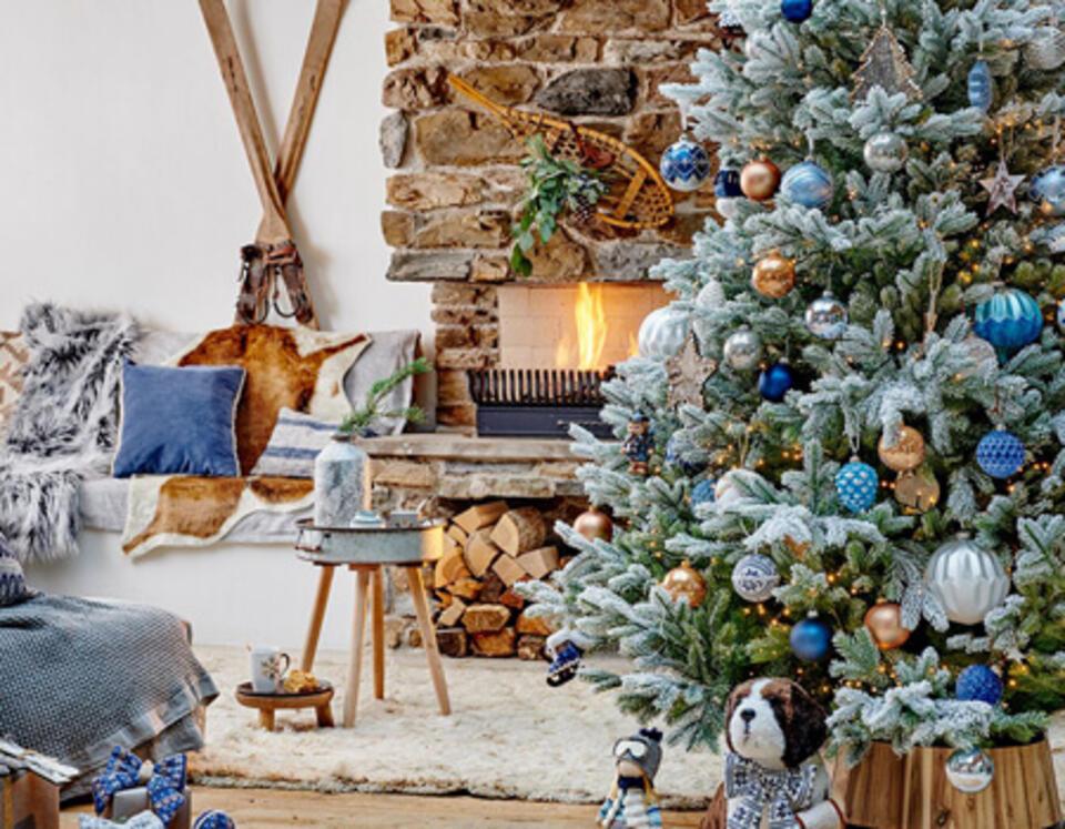 style Noël montagne