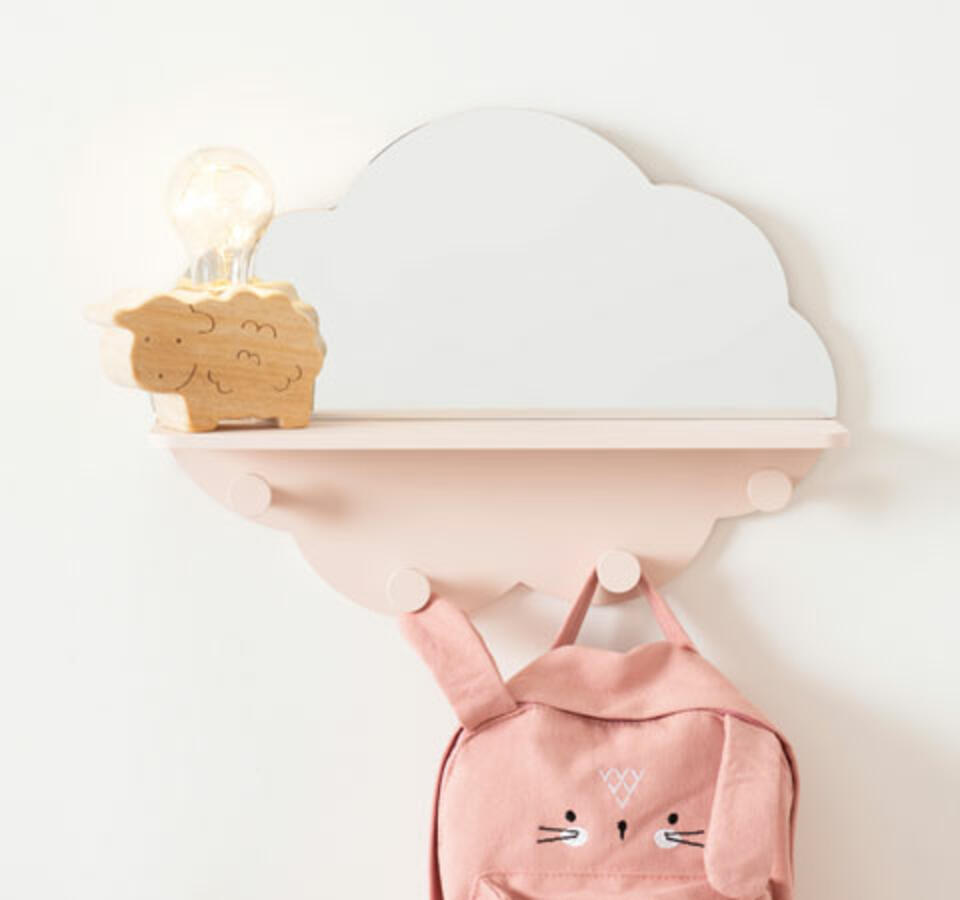 patère nuage pour chambre bébé
