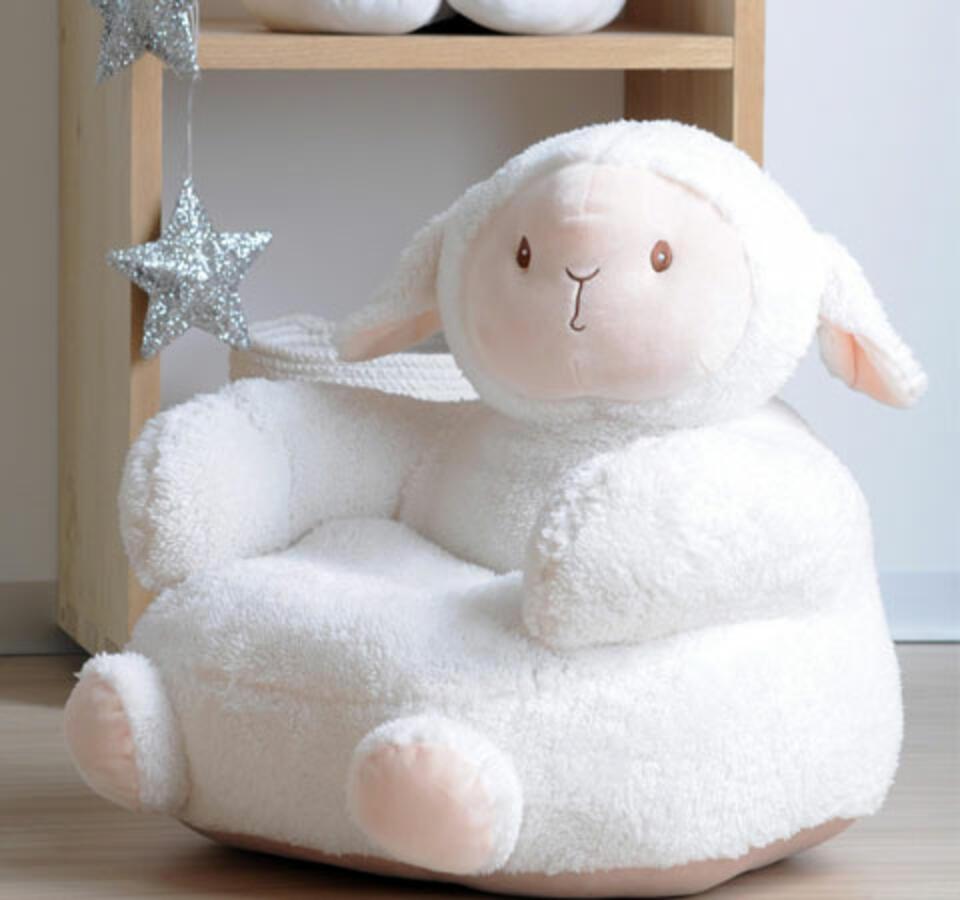 pouf mouton pour chambre bébé