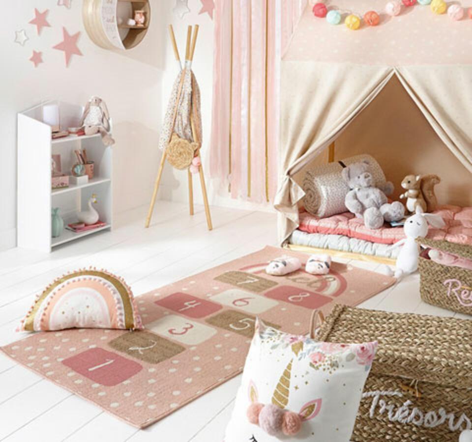 alfombra infantil rayuela