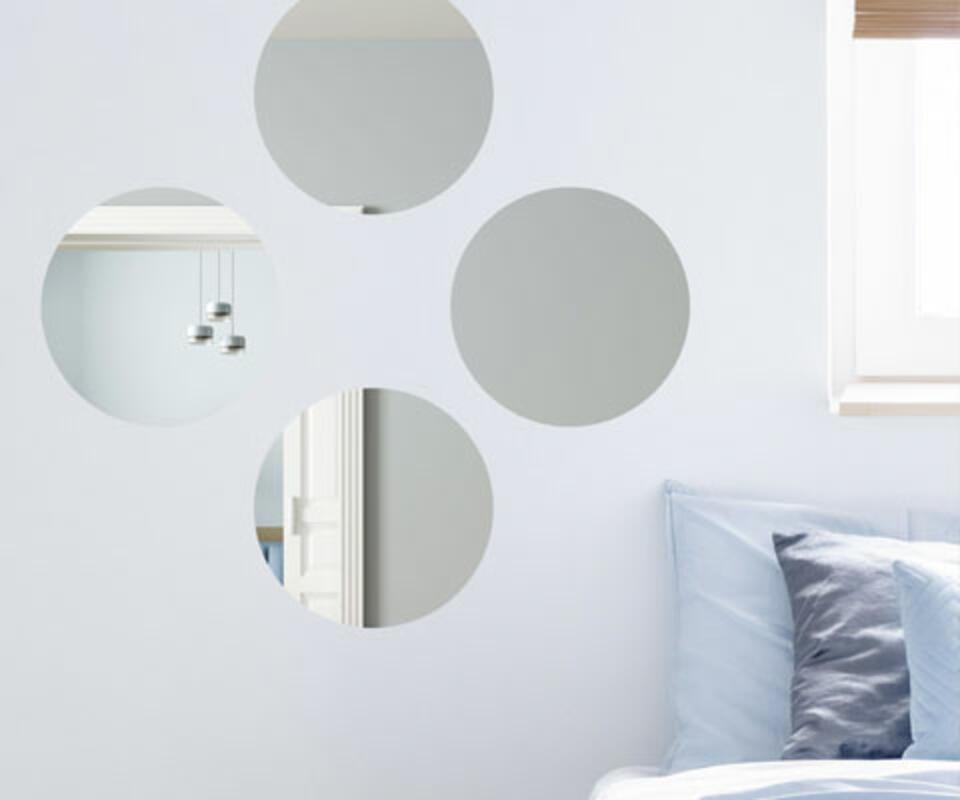 miroir mural rond