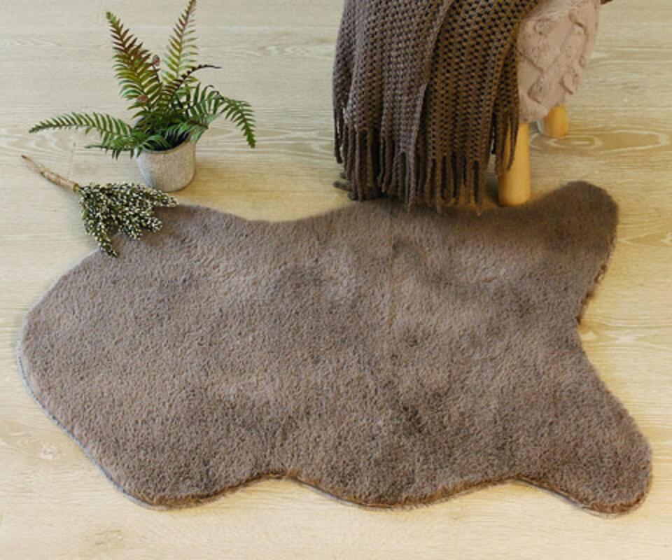 tappeto ecopelliccia