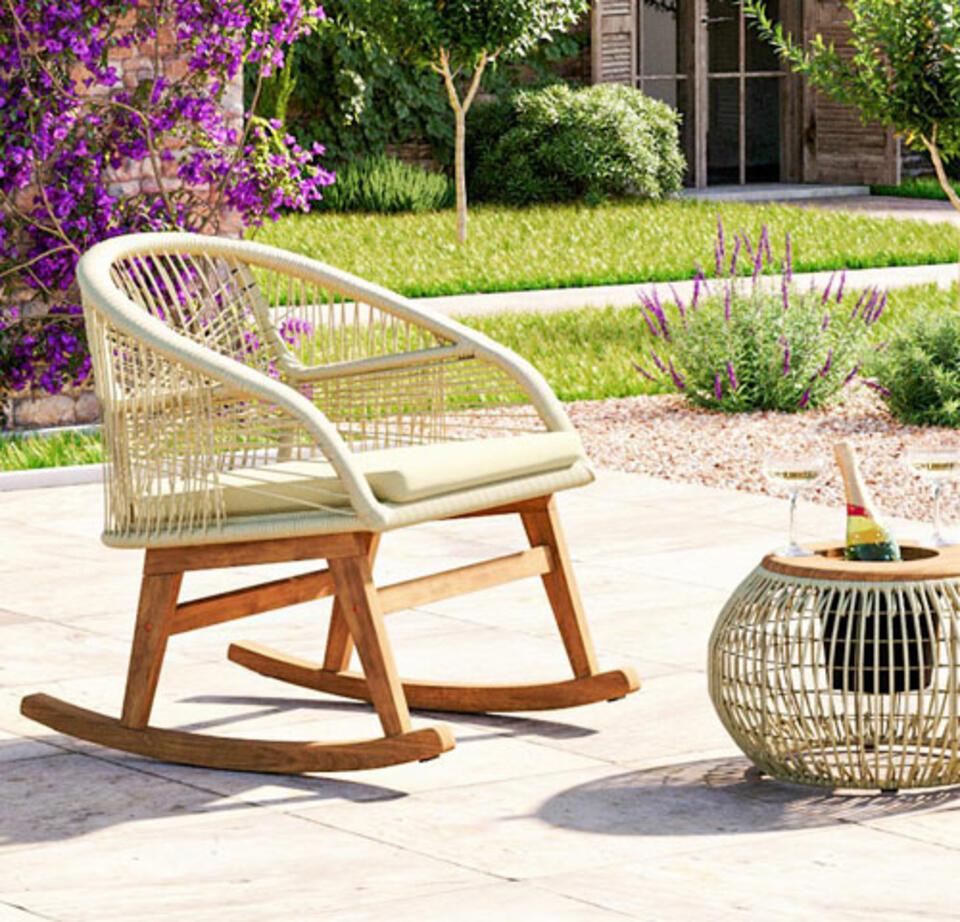 fauteuil à bascule design