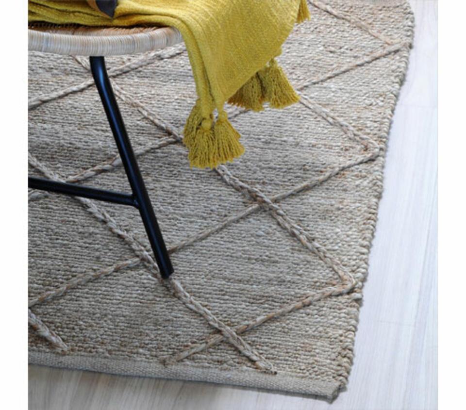 tapis en jute naturel