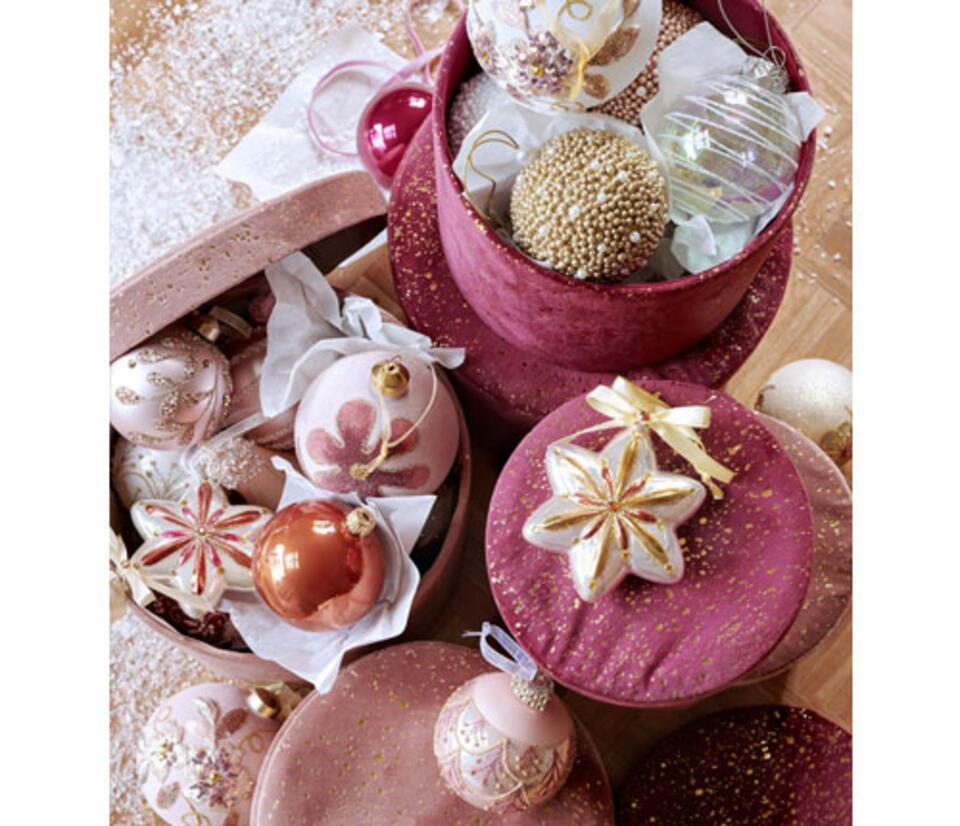 addobbi natalizi rosa