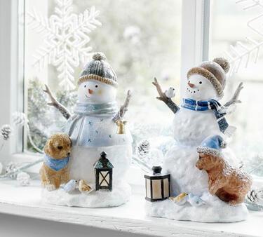déco de Noel bonhomme de neige