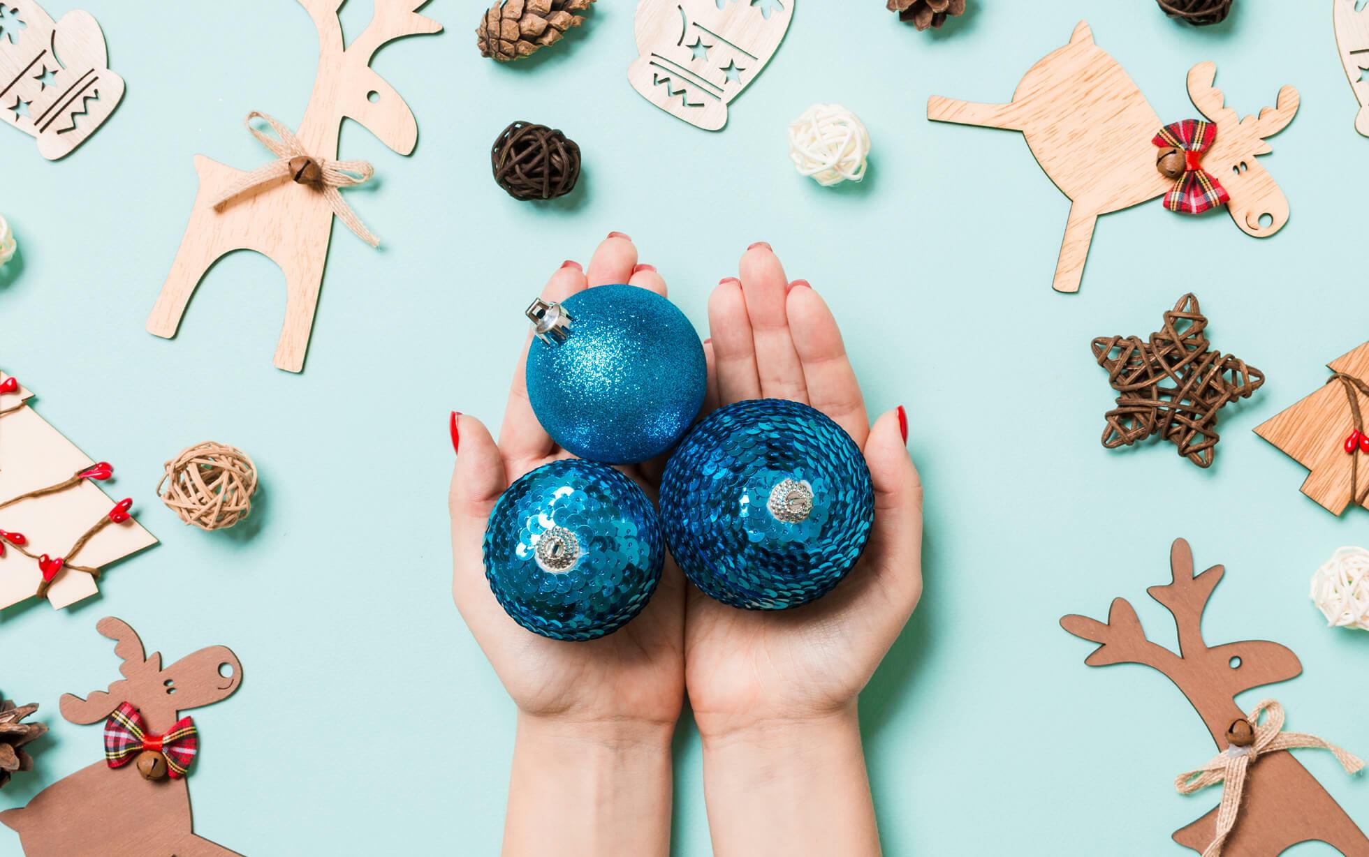 Decoración navideña fácil de hacer por ti mismo