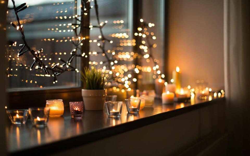 guirnalda de luces decorativa