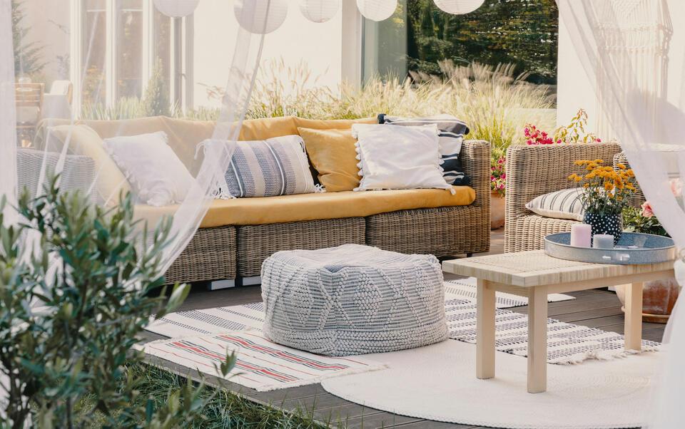 le nostre idee per un giardino accogliente