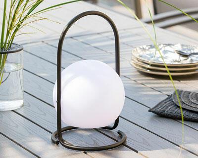 lampe de jardin sans fil