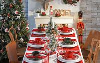 idee per decorare il tavolo per Natale