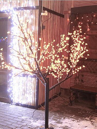 Albero luminoso