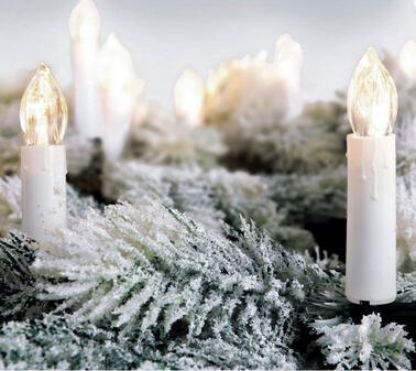 Lampadina e candela