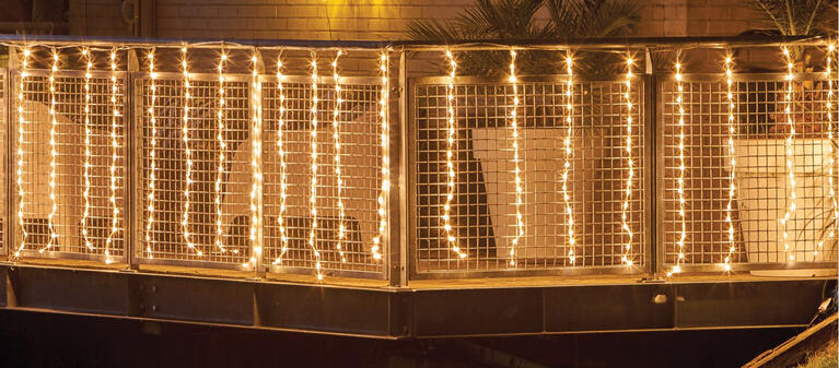 Luces para el balcón